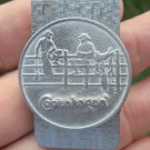 "COPENHAGEN  2 COWBOYS ON  THE FENCE MONEY CLIP NEAT! ""NEW/UNUSED"""