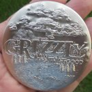 NEW/UNUSED 2007 GRIZZLY SNUFF CAN LID  IN ORIGINAL PACKAGE