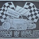 "COPENHAGEN/SKOAL SHOOTOUT WORLD OF OUTLAWS BELT BUCKLE""NEW/UNUSED"""
