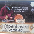 COPENHAGEN BLACK WITH COWBOY METAL SIGN NEW 2001