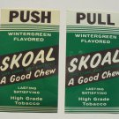 "SKOAL '50S PUSH-PULL DOOR DECAL ""A GOOD CHEW"""