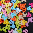 Mickey Mouse Multicolor Novelty Mini Buttons - sewing supplies