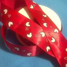 Hearts Balloons on Red Satin Ribbon - DIY
