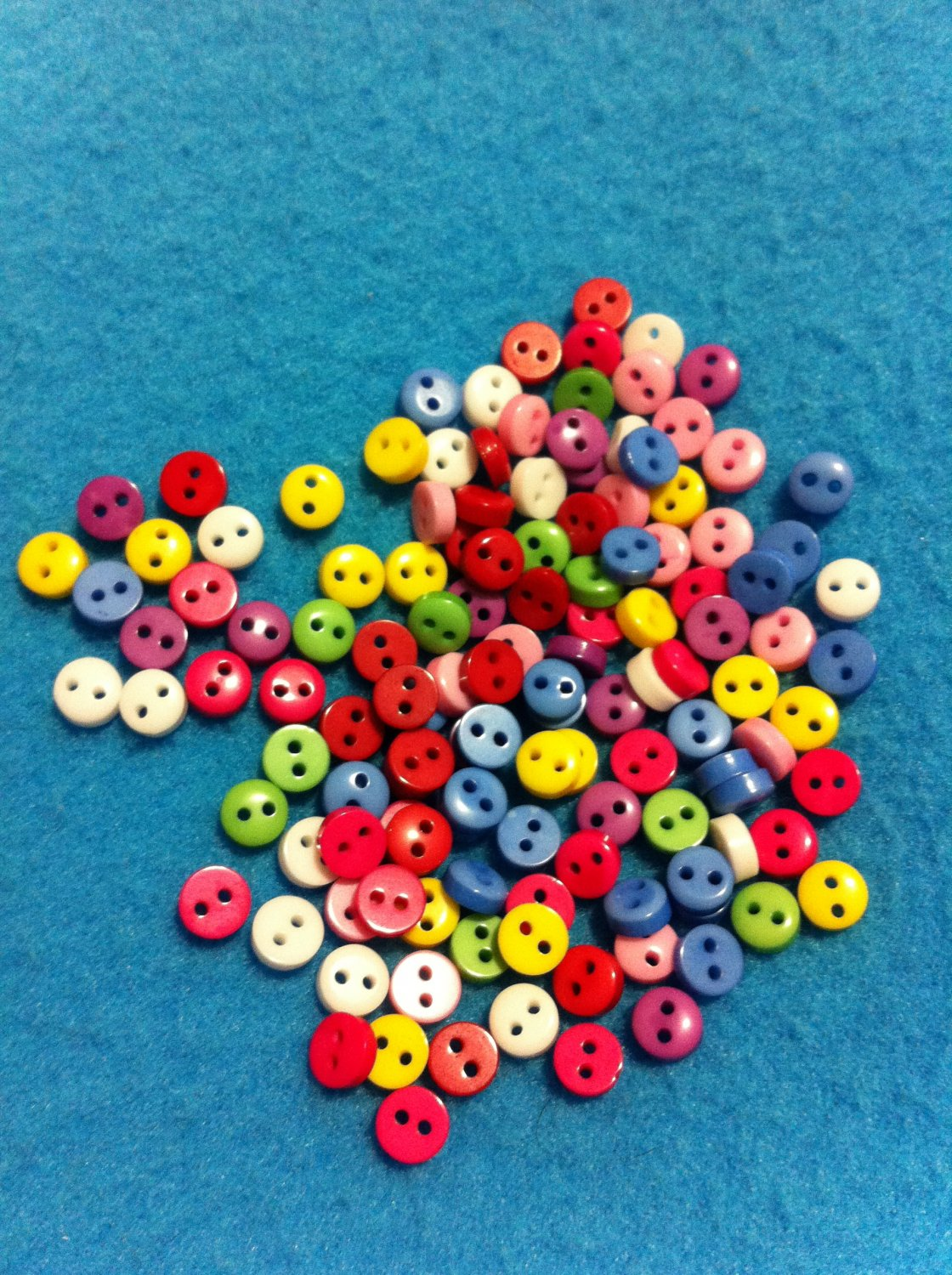 Mini mini mini multicolorplastic buttons sewing craft for Sewing and craft supplies