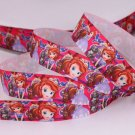 Princess Sofia Printed Grosgrain Ribbon -DIY Craft Supplies