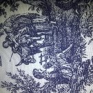 Classic Toile Cotton Fabric- Half Yard sewing supplies