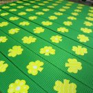 "Irish Shamrocks Green Printed Grosgrain Ribbon/5/8 ""width/DIY Hair Bow Head Band"