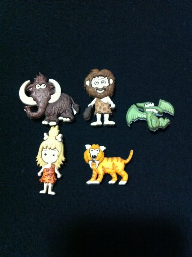 Stone Age Novelty Buttons/Sewing supplies/DIY craft supplies/