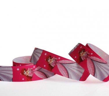 "Disney Princess Ariel Party Dress Grosgrain Ribbon/1""width /DIY Hair Bow/3 YARDS"