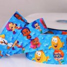 "Bubble Guppies Printed Grosgrain Ribbon 5YARDS/DIY/1""(25 mm) width"