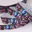 Monster High Printed Grosgrain Ribbon/3 Yards - DIY
