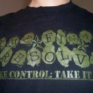 Take Control: Take it Back shirt SMALL