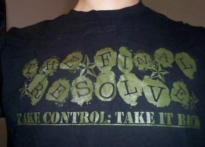 Take Control: Take it Back shirt LARGE