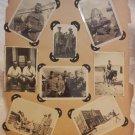 ANTIQUE JEWISH PALESTINE & EUROPE PHOTO ALBUM W/ 428 PHOTOS!