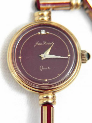 EXQUISITE FRENCH JEAN PIERROT GOLD PLATED LADIES WATCH