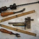 ANTIQUE TOOL KIT OF 5 INSTRUMENT BRIVDLEY 1915