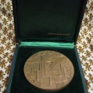 Ville d'Orly France High Relief Bronze Medal by LRoy 1979 Cased