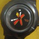 STYLISH BLACK SWATCH WATER RESISTANT 200M SWISS WATCH SWISS AG 1998