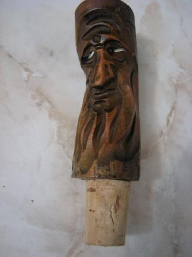 TROLL SPIRIT TREE OF POCAHONTAS GRANDMOTHER WOOD CORK