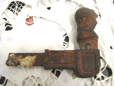 Antique Cast Iron Window Shutter Palestine 1920's