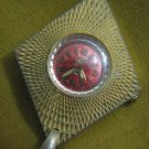 AMAZING ELIDA RED DIAL ANTIMAGNETIC SWISS WATCH PENDANT