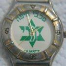VINTAGE MACCABI HAIFA FOOTBALL CLUB QUARTZ WATCH ISRAEL