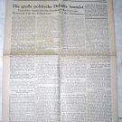 ORIGINAL NEWSLETTER 20 ZIONIST CONGRESS ZURICH 1937