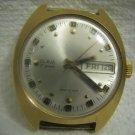 SLAVA 27 Jewels Mechanical Gold filled Watch Vintage