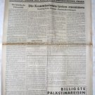 ORIGINAL NEWSLETTER 18 ZIONIST CONGRESS PRAGUE 1933
