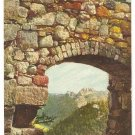 OYBIN ARCHAEOLOGICAL RUINS POSTCARD 1923 GERMANY