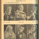 """THE STAGE"" PALESTINE HABIMA THEATER MAGAZINE 1946"