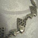 Queen Nefertiti ~ Egypt Antique 800 Silver Bracelet & Earrings!