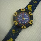 Flik Flak Boarder Crack watch Swiss made ~ vintage