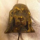 COCKER SPANIEL DOG ANTIQUE RUSSIAN BRONZE FIGURINE