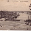 Dunkerque Dunkirk FRANCE TO HUNGARY REAL PHOTO PC 1910
