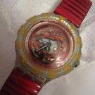 Vintage RED MARINE SWATCH 1994 Watch