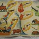 VERY RARE PALESTINE SINAI ILLUSTRATED PASSOVER HAGGADAH 1930'S~HARD COVER