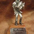 SIMCHAT TORAH Fay Avishay 925 Sterling silver sculpture Israel