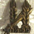VERY RARE PALMACH ELITE FORCE OF HAGANA PALESTINE MINIATURE PIN BADGE
