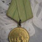 FOR DEFENSE OF LENINGRAD USSR Russia Original WWII Awarded Medal ORIGINAL !