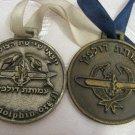 RARE LOT OF 2 DAKAR IDF SUBMARINE MEMORIAL SAILING MEDALS W/RIBBONS ISRAEL