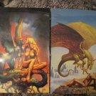 Boris Vallejo & Rowena Morrill ~ Fantasy Art ~ Vintage