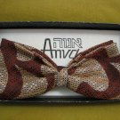 ANVA Stock ~ Tie Bow, Israel 1950's ~ Boxed ~ Vintage