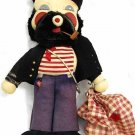 PRIMITIVE ART BOATSWAIN CLOTH DOLL 12""