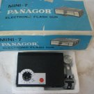 MINI-7 PANAGOR ELECTRONIC FLASH GUN JAPAN