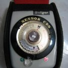 SOLIGOR SENSOR CDS LIGHT METER CASED JAPAN