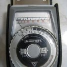 VINTAGE LENINGRAD LIGHT METER CASED MADE IN USSR