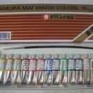 RARE SAKURA JAPAN MAT WATER COLORS 15 TUBES NEW