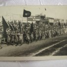 HASHOMER HATZAIR ZIONIST YOUTH MOVEMENT MARCH PARADE PALESTINE REAL PHOTO PC