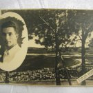 SCARCE PALESTINE SHANA TOVA JEWISH NEW YEAR REAL PHOTO COLLAGE PC HAIFA 1934